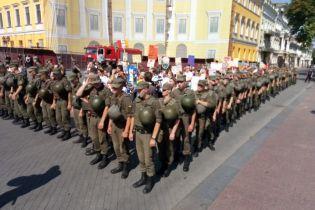 В Одессе одновременно прошли акции в поддержку ЛГБТ и традиционных ценностей