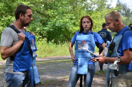 Україна впорядковує процес розмінування згідно стандартів НАТО