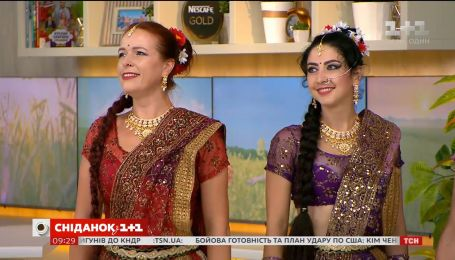 """""""Сніданок"""" празднует День независимости Индии с восточными танцами"""