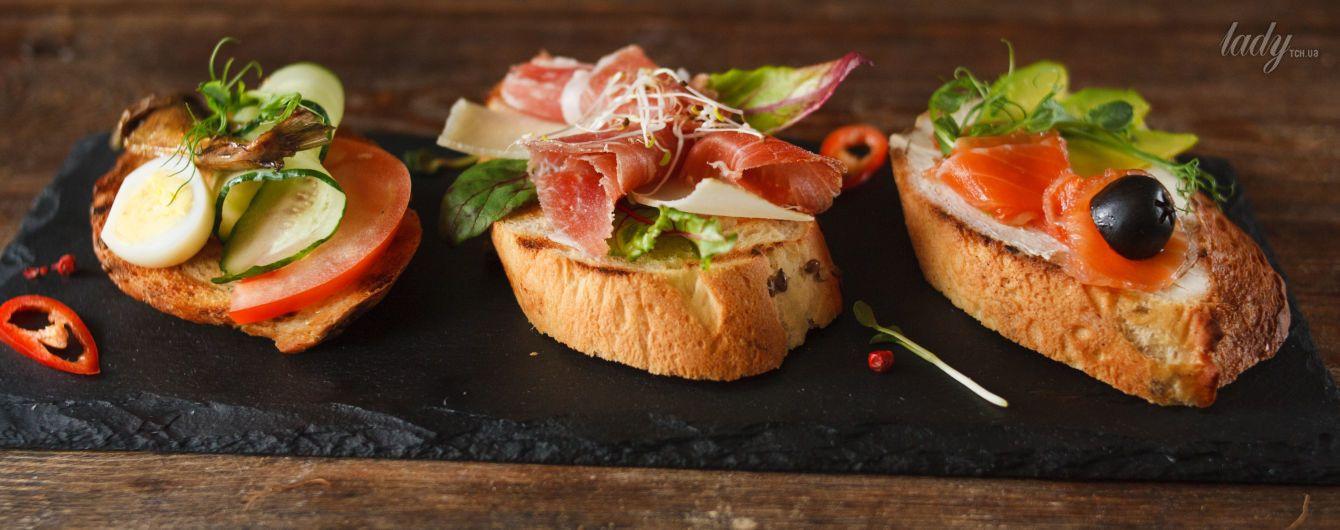 варианты бутербродов рецепты