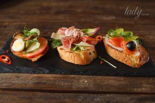 Канапе-паті: рецепти смачних бутербродів
