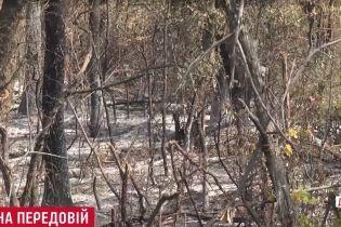 """Адский """"Орел"""": военные показали выгоревшую позицию под Авдеевкой"""