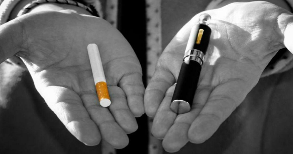 Електронна сигарета, як альтернатива палінню тютюна