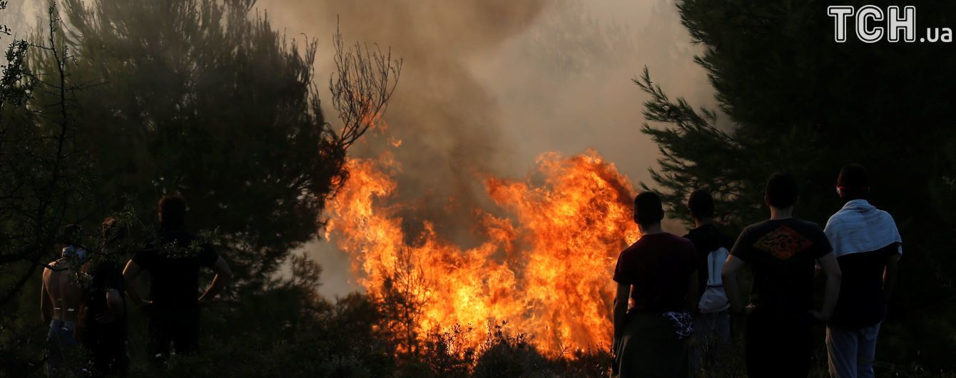 Вогняна атака: унаслідок потужної лісової пожежі в США знищено мінімум 1500будинків