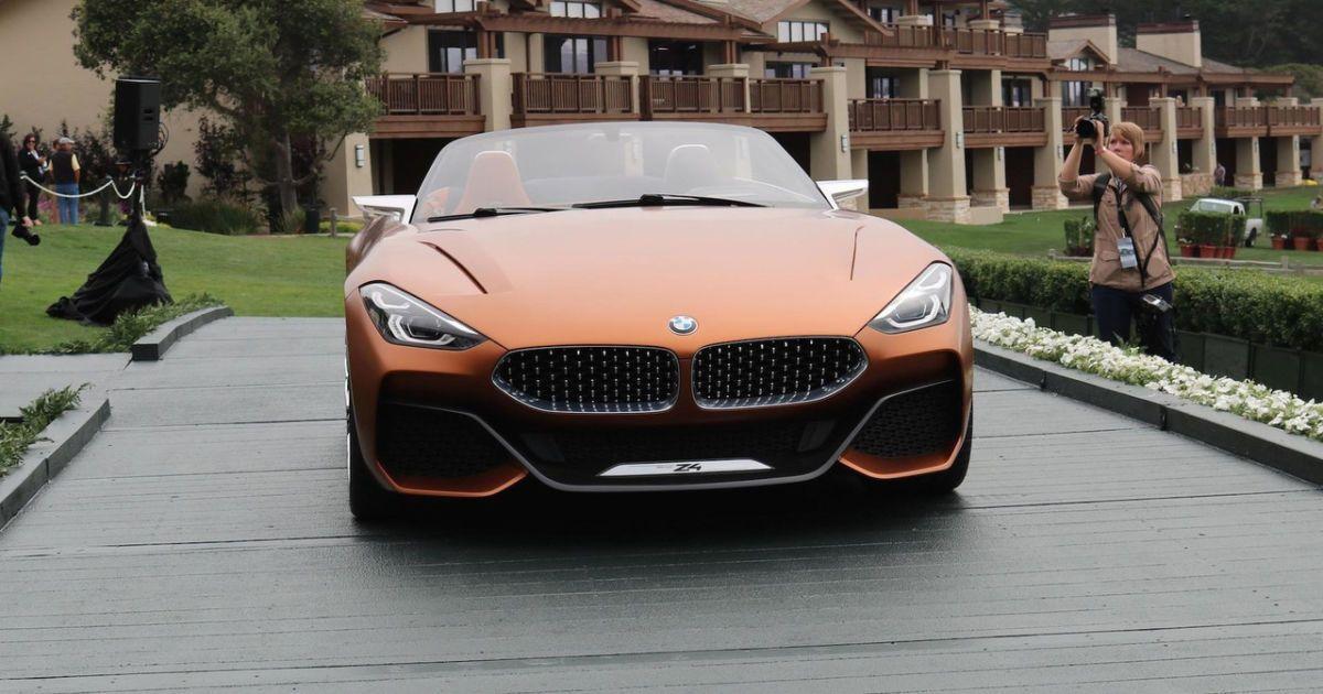 BMW официально представила прототип родстера Z4 нового поколения