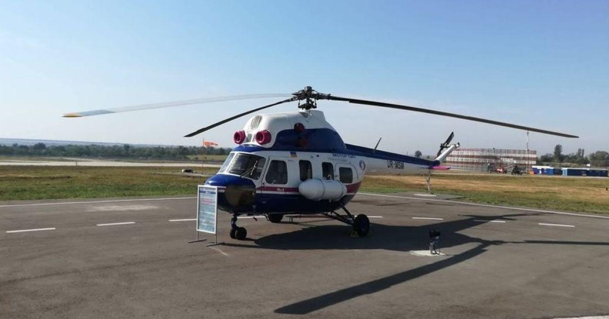 """Перший український вертоліт отримав символічну назву """"Надія"""" @ Мотор Січ"""