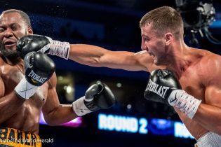 Украинский боксер Гвоздик поднялся на третью строчку рейтинга IBF
