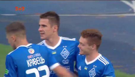 Динамо - Сталь - 1:0. Відео голу Бєсєдіна