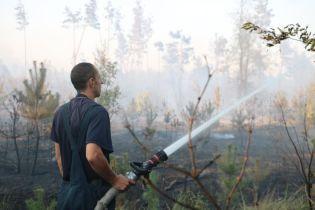Чрезвычайная пожарная опасность объявлена в Днепропетровской области