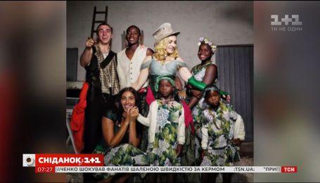 Мадонна опубликовала фото со всеми своими детьми