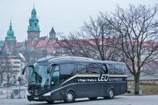 Чешская компания LEO Express продлит свой автобусный маршрут в Украине