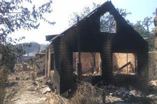 Журналистка показала фото ужасных последствий пожаров в АТО, которые уничтожают городки и позиции