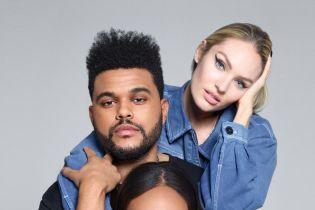 Лима, Шейк, Смоллс и Свэйнпоул позировали в объятиях The Weeknd для нового выпуска Harper's Bazaar
