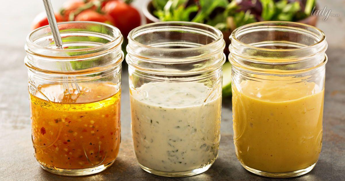 Заправка для салата: 15 рецептов салатных заправок вместо майонеза