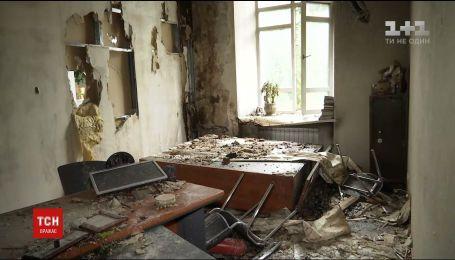 В Харькове Апелляционный административный суд загорелся от удара молнии