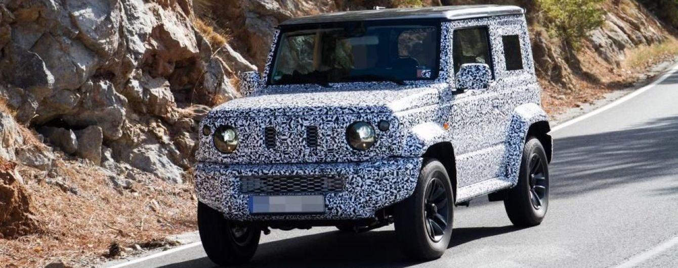 Suzuki начала дорожные испытания внедорожника Jimny нового поколения