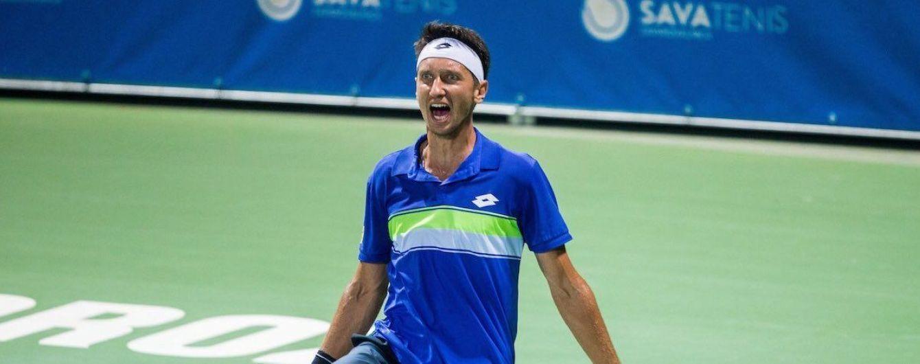 Стаховский не без проблем вышел в финал турнира в Тайване
