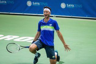 Стаховський не без проблем вийшов до фіналу турніру в Тайвані
