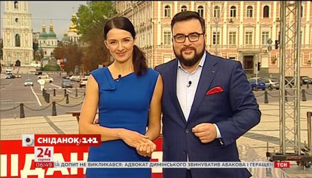 Прямое включение: Руслан Сеничкин и Валентина Хамайко на Михайловской площади
