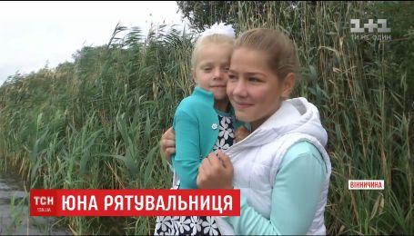 Школьница на Винничине вытащила из реки 6-летнюю девочку, пока взрослые только смотрели