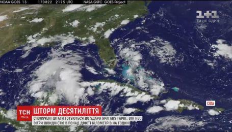 На США насувається найпотужніший ураган десятиліття