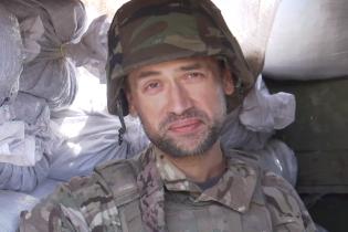Російський актор, який воює за Україну, через зйомки тимчасово залишив фронт