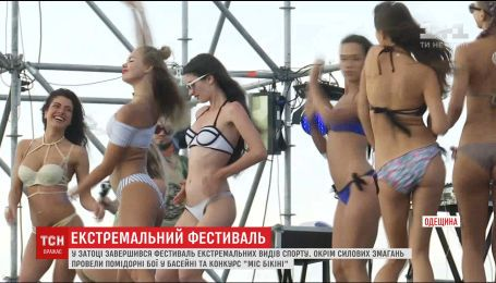 """Силовые соревнования и конкурс """"Мисс бикини"""": в Затоке завершился фестиваль Z-Games"""