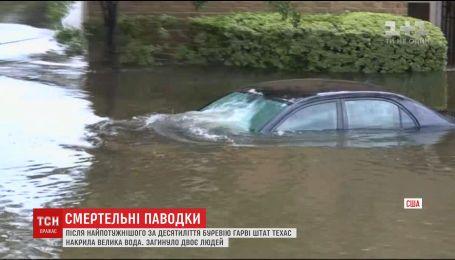 Хьюстон страдает от крупнейшего разрушительного наводнения в истории города