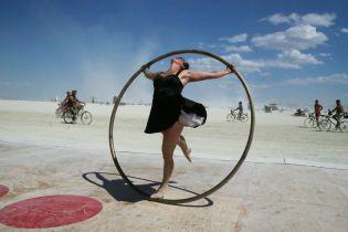 Огонь в пустыне. В США стартовал культовый фестиваль Burning man