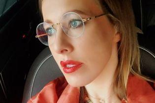 Собчак обурив сюжет російського каналу, де вперше засвітили обличчя її сина