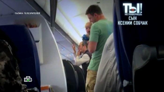 Російський канал засвітив обличчя сина Собчак та Віторгана