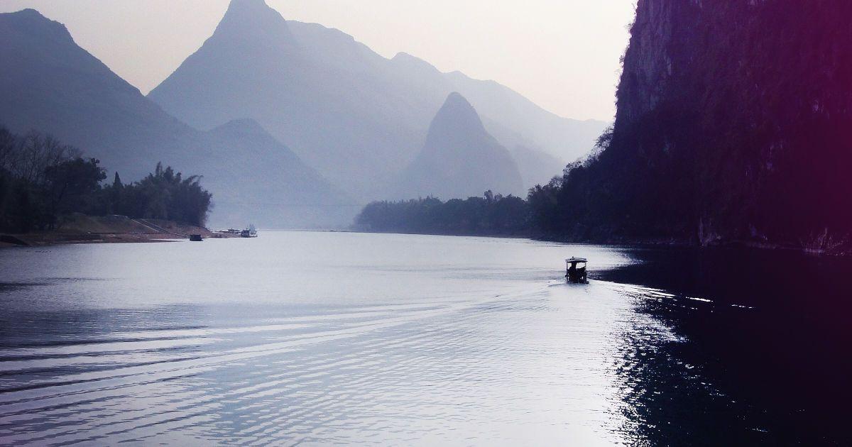 Горы и водоемы Гуйлиня