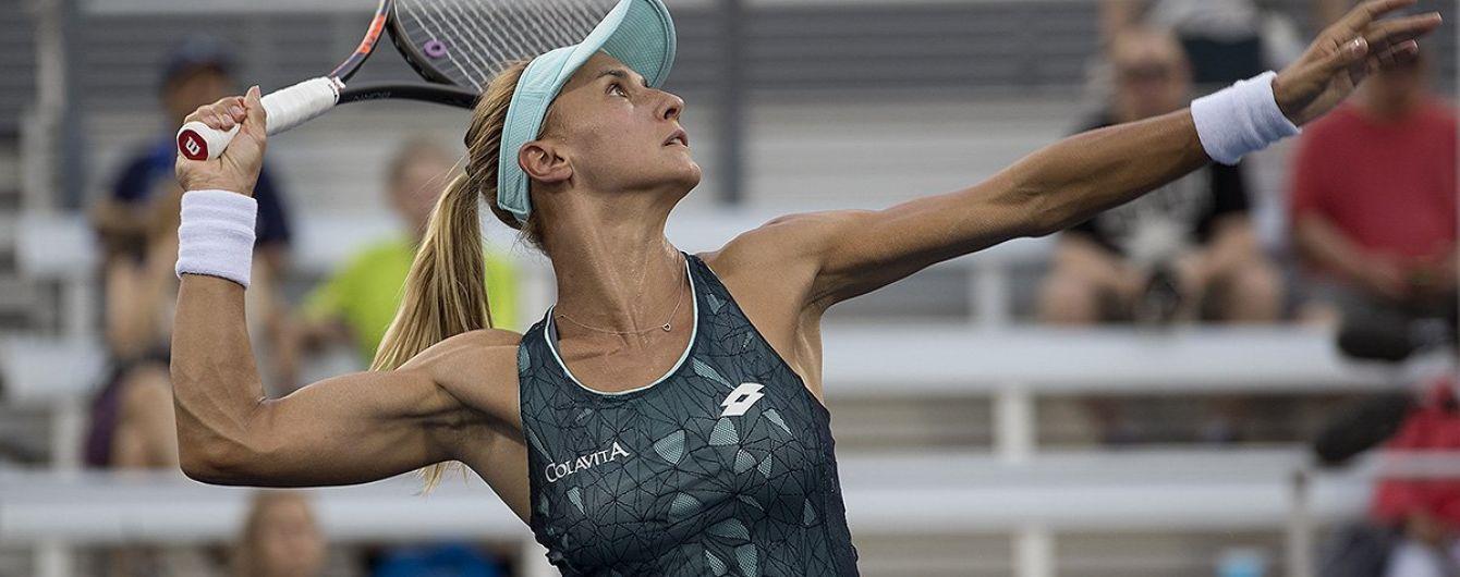 Одна из лучших теннисисток Украины сделала на каблуках необычное задание с ракеткой
