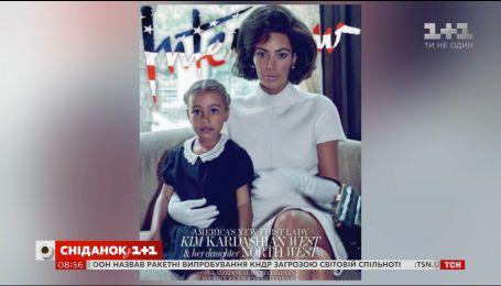 Светская львица Ким Кардашян стала первой леди США
