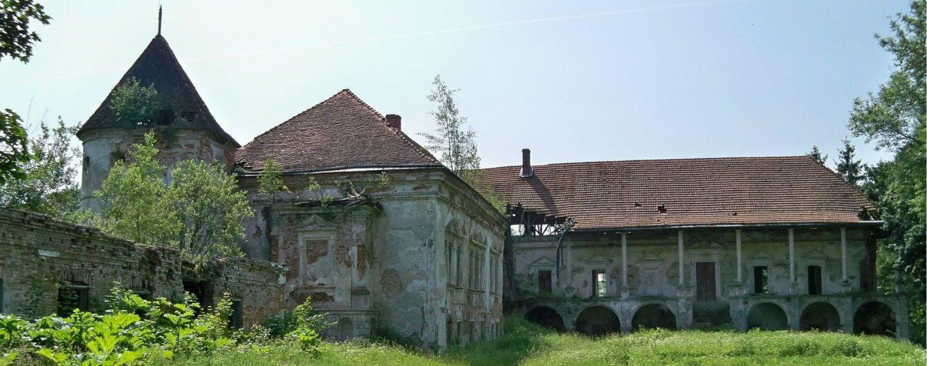 На Львівщині врятують Поморянський замок, який розвалюється на очах