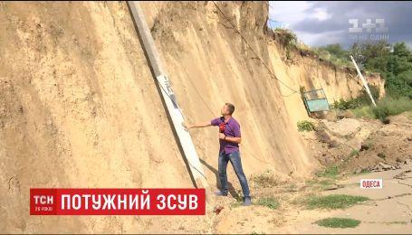 Науковці пояснили причину масштабного зсуву ґрунту під Одесою
