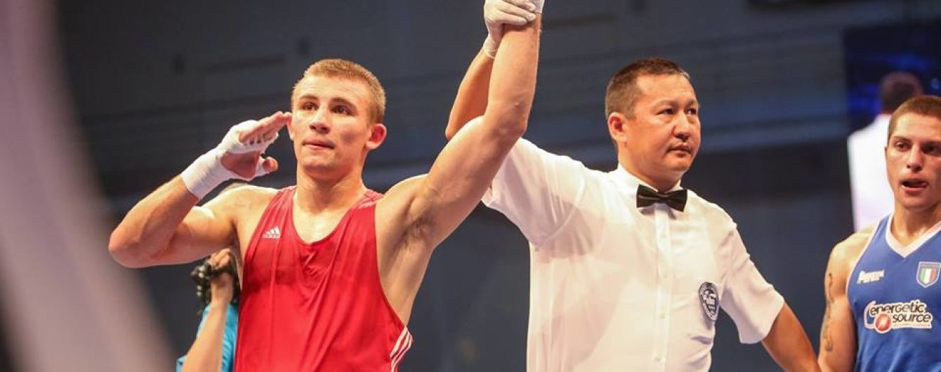 Боксер Хижняк стал лучшим спортсменом месяца в Украине