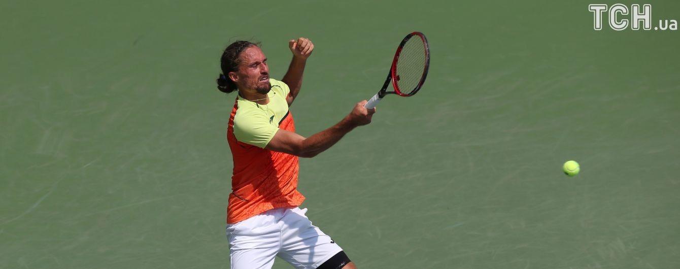 Лучший теннисист Украины Долгополов не смог пробиться в 1/4 финала турнира в Австралии