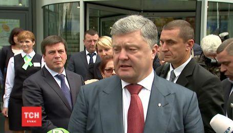 Порошенко ввел в действие решение СНБО о новых правилах пересечения границы