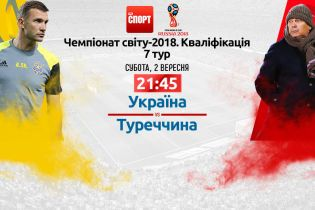Україна - Туреччина - 2:0. Онлайн-трансляція матчу відбору ЧС-2018