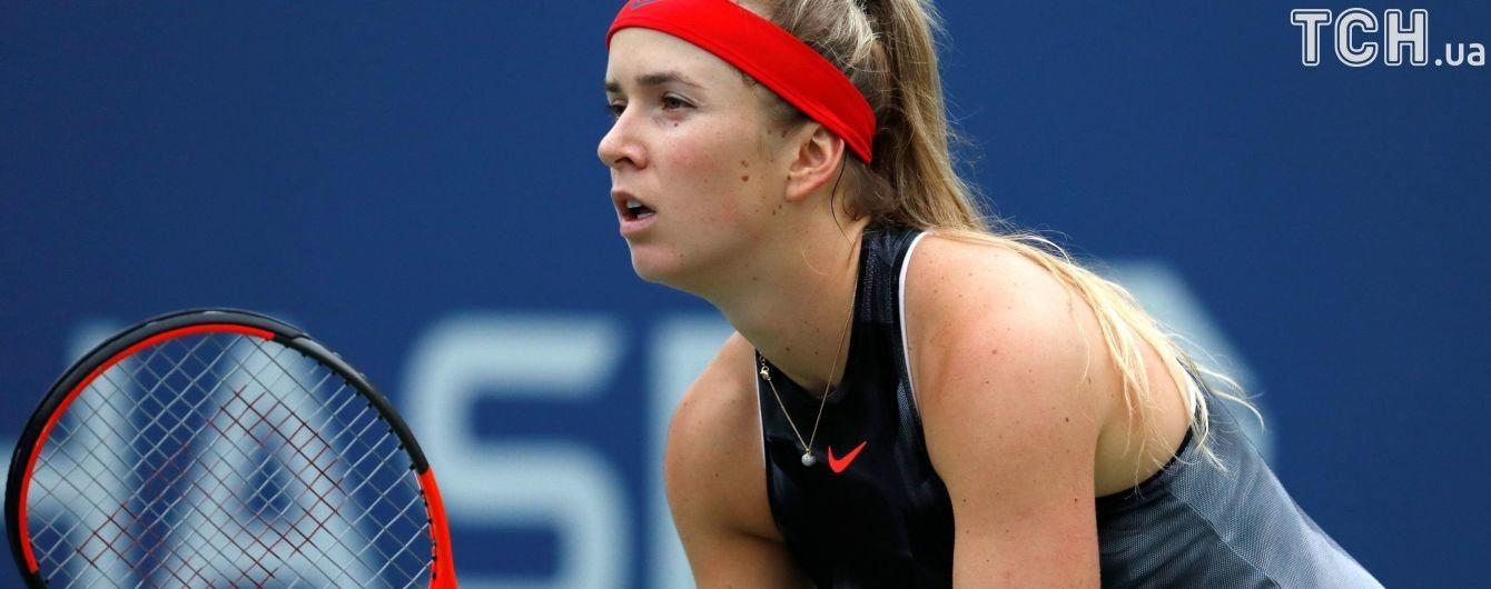 Українка Світоліна стартувала з непростої перемоги на турнірі в Гонконзі