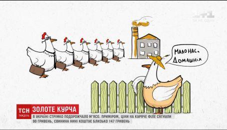 ТСН дослідила причини стрімкого здорожчання м'яса в Україні