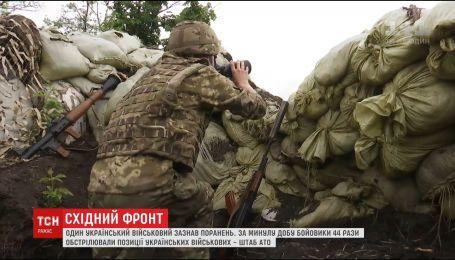 Фронтові зведення: бойовики на Донбасі вдвічі збільшили кількість обстрілів