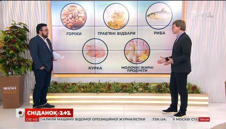 Говорим об особенностях питания после 18:00 с диетологом Александром Кущом