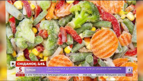Секрети правильної заморозки овочів та фруктів