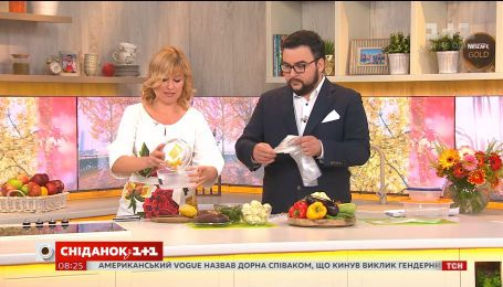 Як правильно заморожувати овочі - поради представника Джеймі Олівера в Україні Дарії Дорошкевич