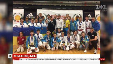 Юные спортсмены одержали победу на чемпионате Европы по каратэ в Бельгии