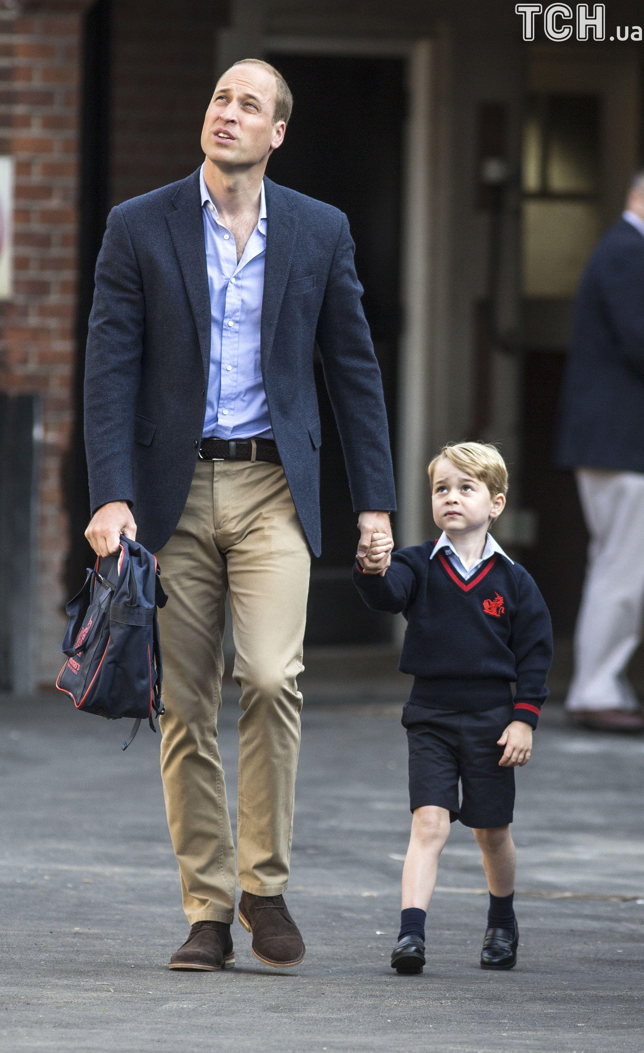 Принц Джордж пішов до школи_3