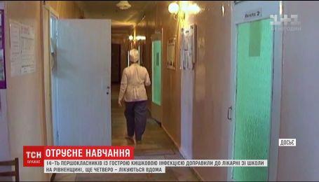На Рівненщині 14 першокласників потрапили до лікарні