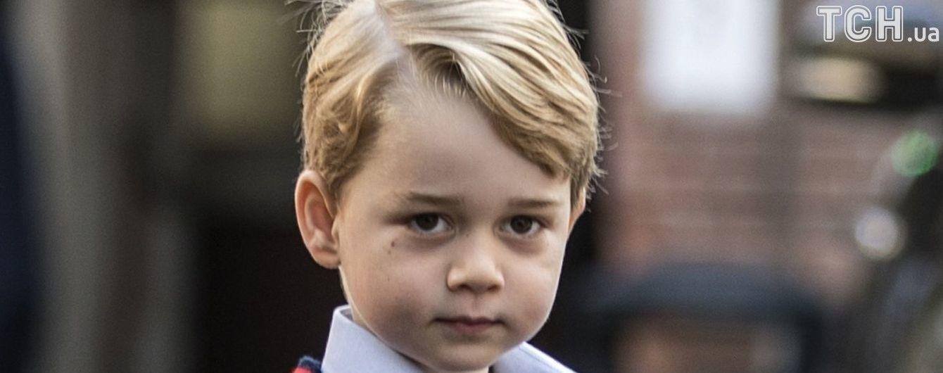 Принц Уильям и Кейт Миддлтон выбрали фамилию маленькому Джорджу для школы